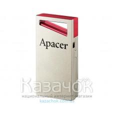 Флеш-память USB Apacer AH112 64GB Red (AP64GAH112R-1)