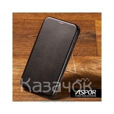 Чехол-книжка Aspor для Samsung A20s 2019 A207 Leather Black