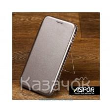 Чехол-книжка Aspor для Samsung A20s 2019 A207 Leather Graphite