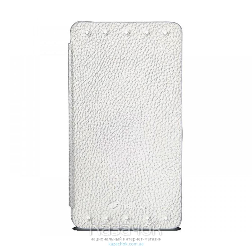 Чехол Melkco Book leather case для HTC Desire 601 White (O2DE61LCFB2WELC)