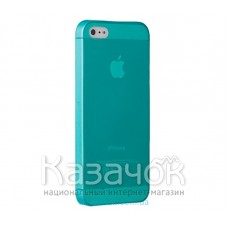 Чехол Ozaki O!coat 0.3 Jelly iPhone 5/5S Cyan (OC533OY)
