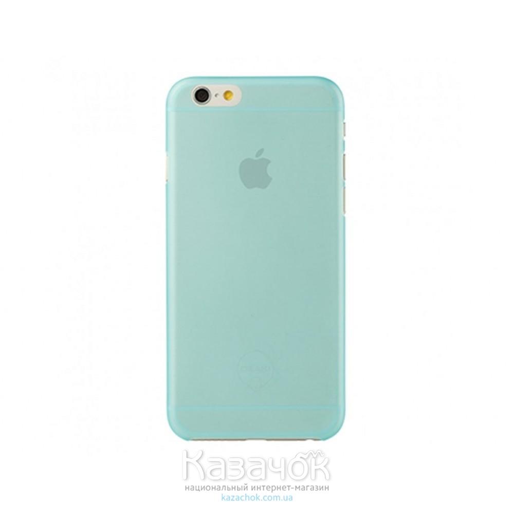 Чехол Ozaki O!coat 0.3 Jelly iPhone 6 Blue (OC555BU)