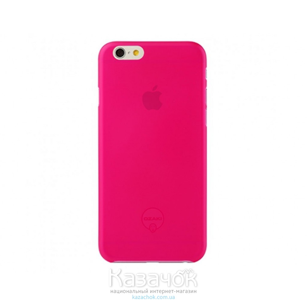 Чехол Ozaki O!coat 0.3 Jelly iPhone 6 Pink (OC555PK)