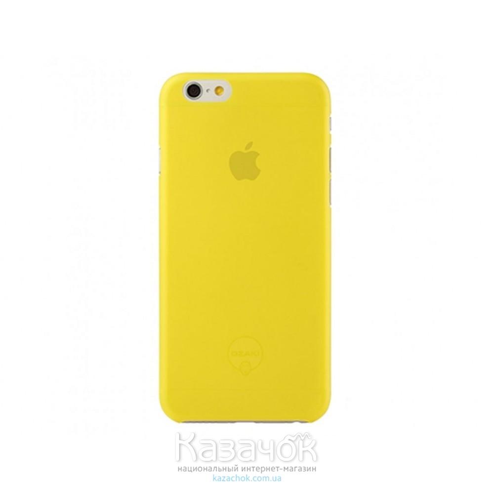 Чехол Ozaki O!coat 0.3 Jelly iPhone 6 Yellow (OC555YL)
