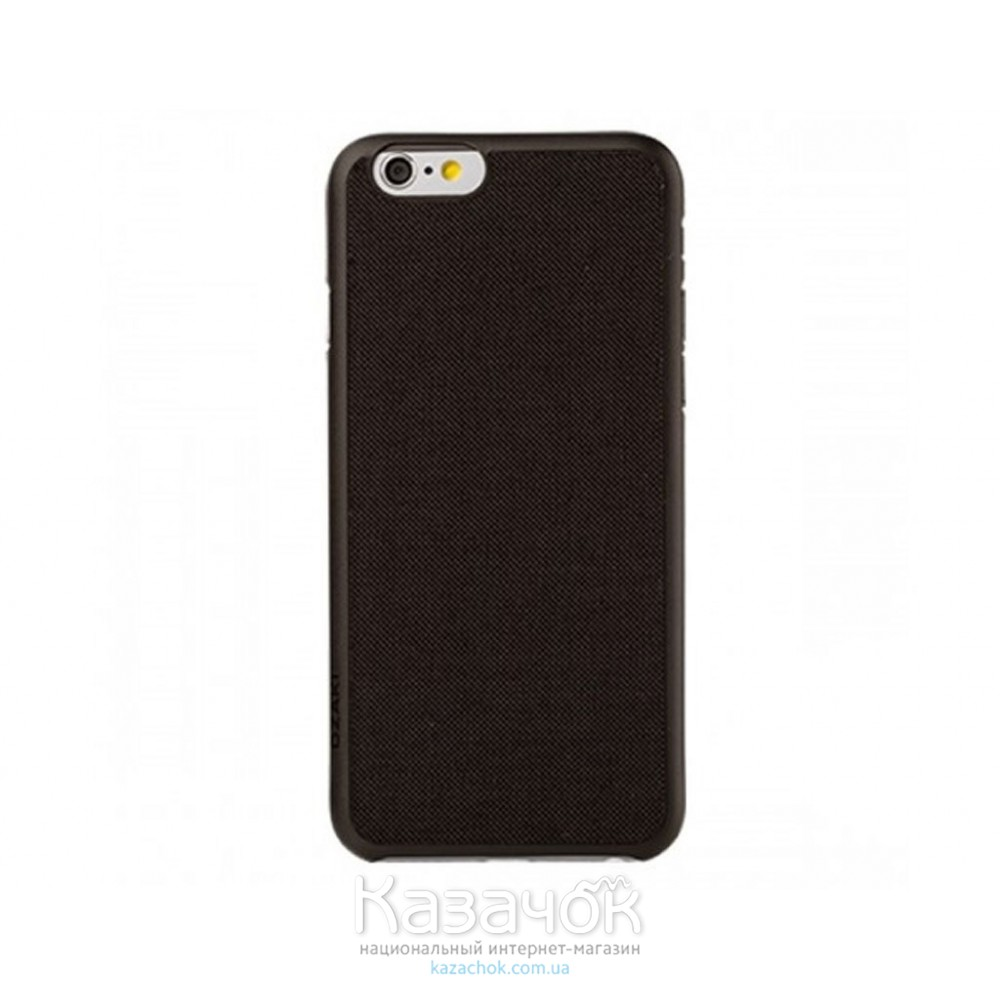 Чехол OZAKI O!coat 0.3+ Canvas iPhone 6 Black