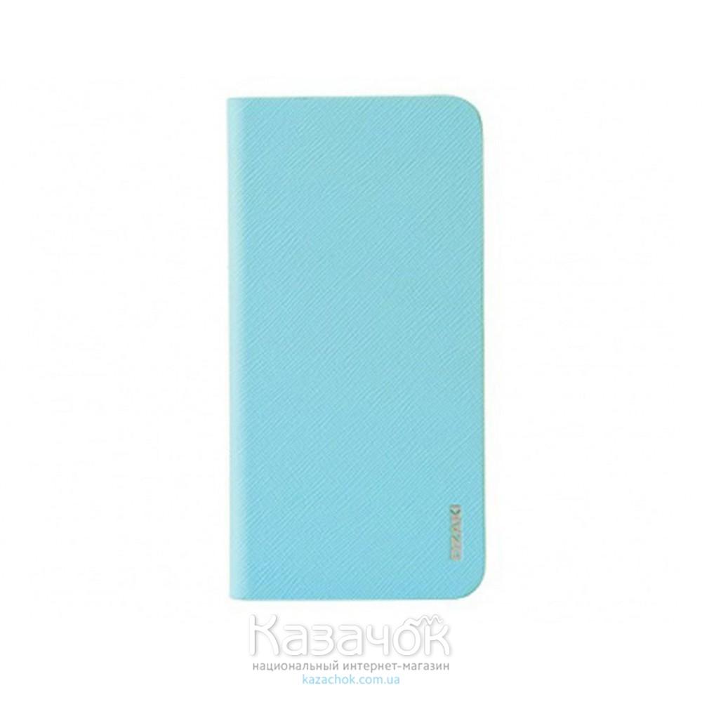 Чехол-книжка OZAKI O!coat 0.3+ Folio iPhone 6 Light Blue