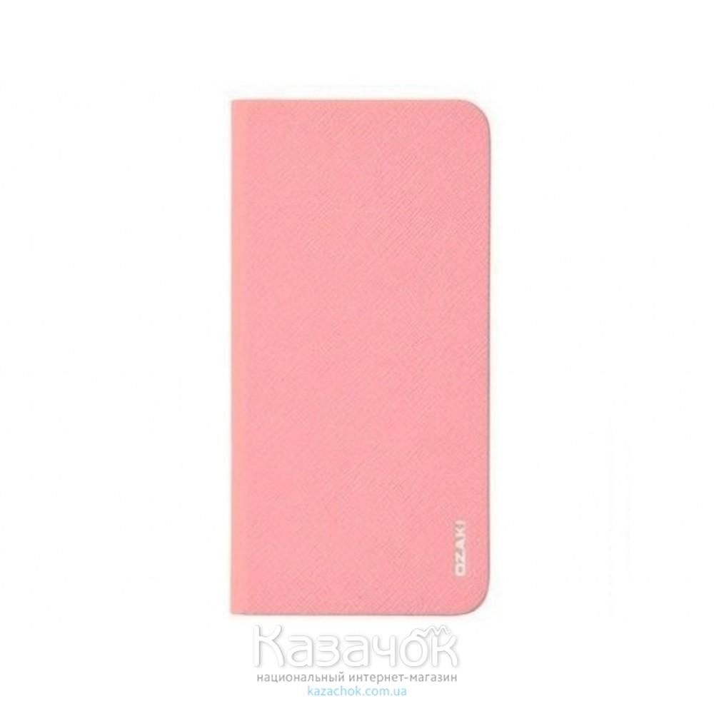 Чехол-книжка OZAKI O!coat 0.3+ Folio iPhone 6 Light Pink