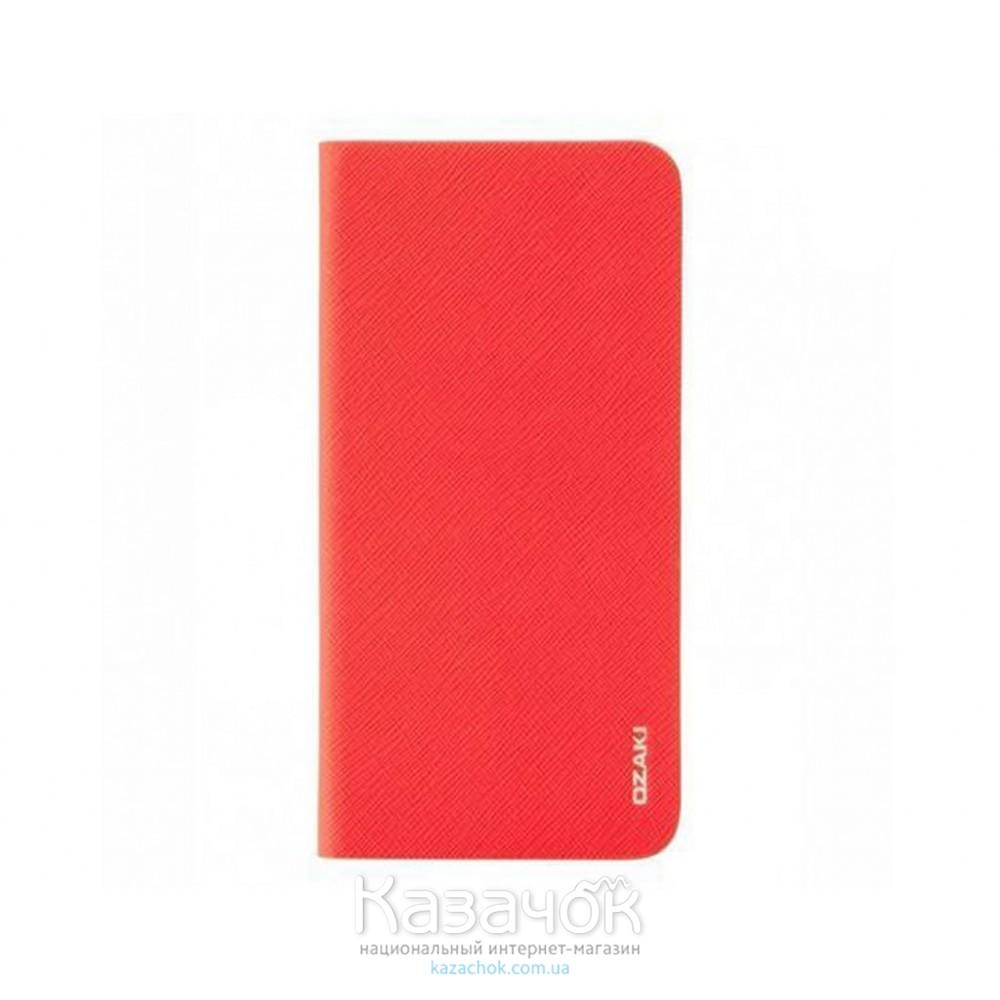Чехол-книжка OZAKI O!coat 0.3+ Folio iPhone 6 Light Red