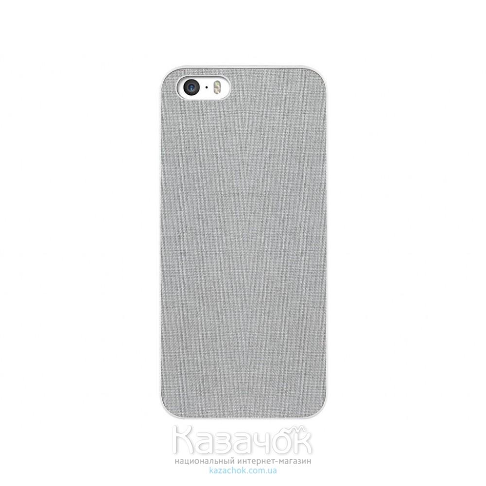 Чехол OZAKI O!coat 0.3+ Canvas iPhone 6 Grey