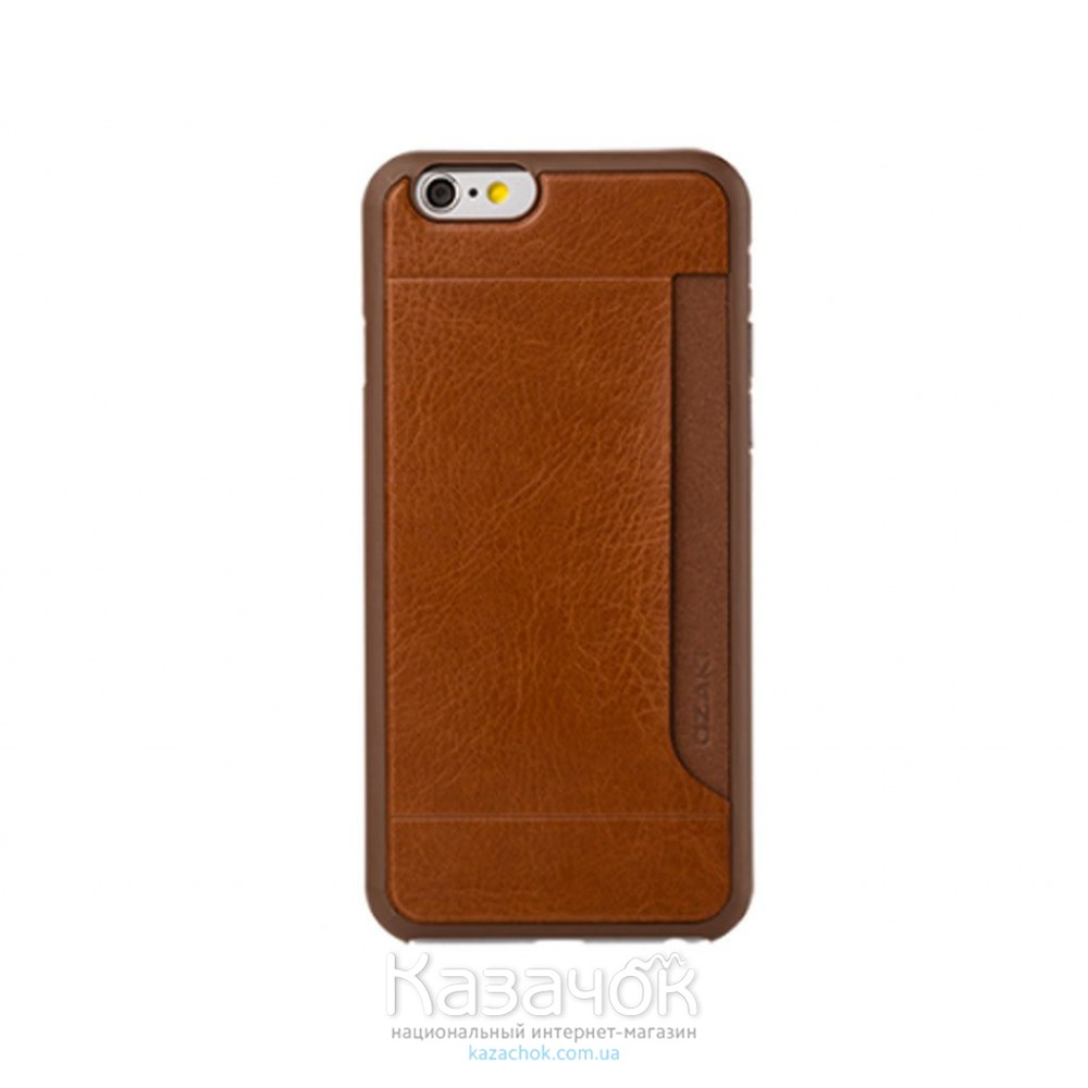 Чехол OZAKI O!coat 0.3+ Pocket iPhone 6 Brown