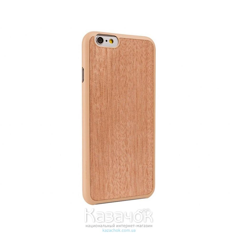 Чехол OZAKI O!coat 0.3+ Wood iPhone 6 Sapele