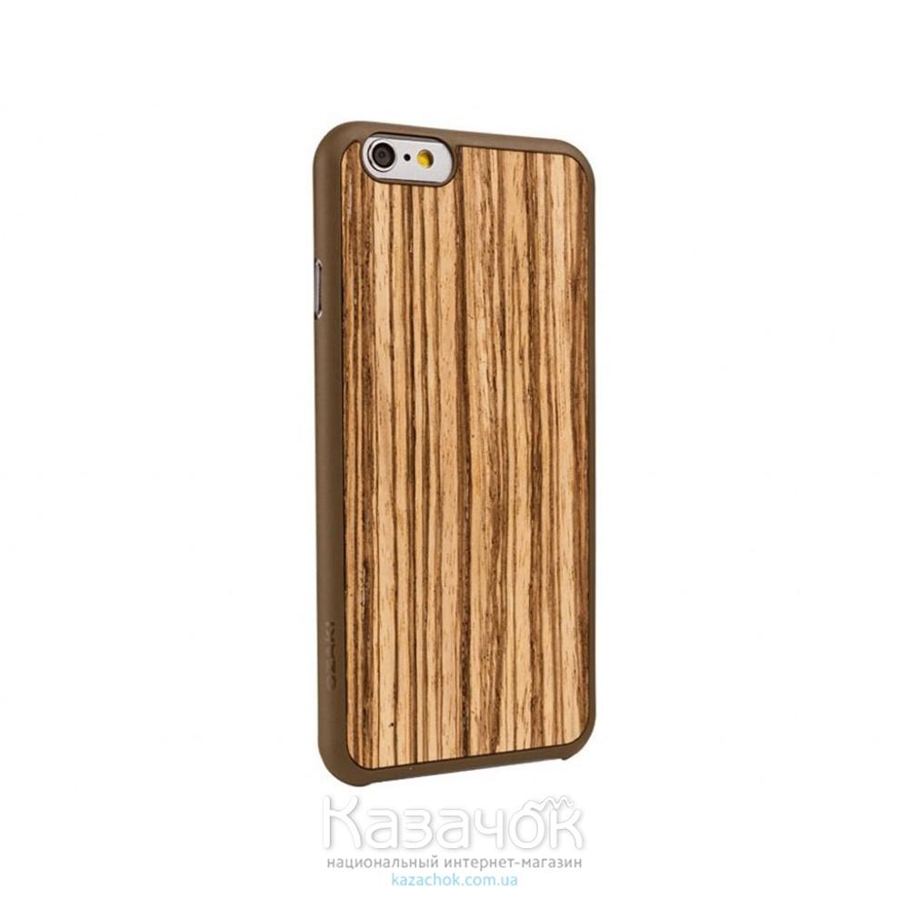 Чехол Ozaki O!coat 0.3+ Wood iPhone 6 Zebrano (OC556ZB)