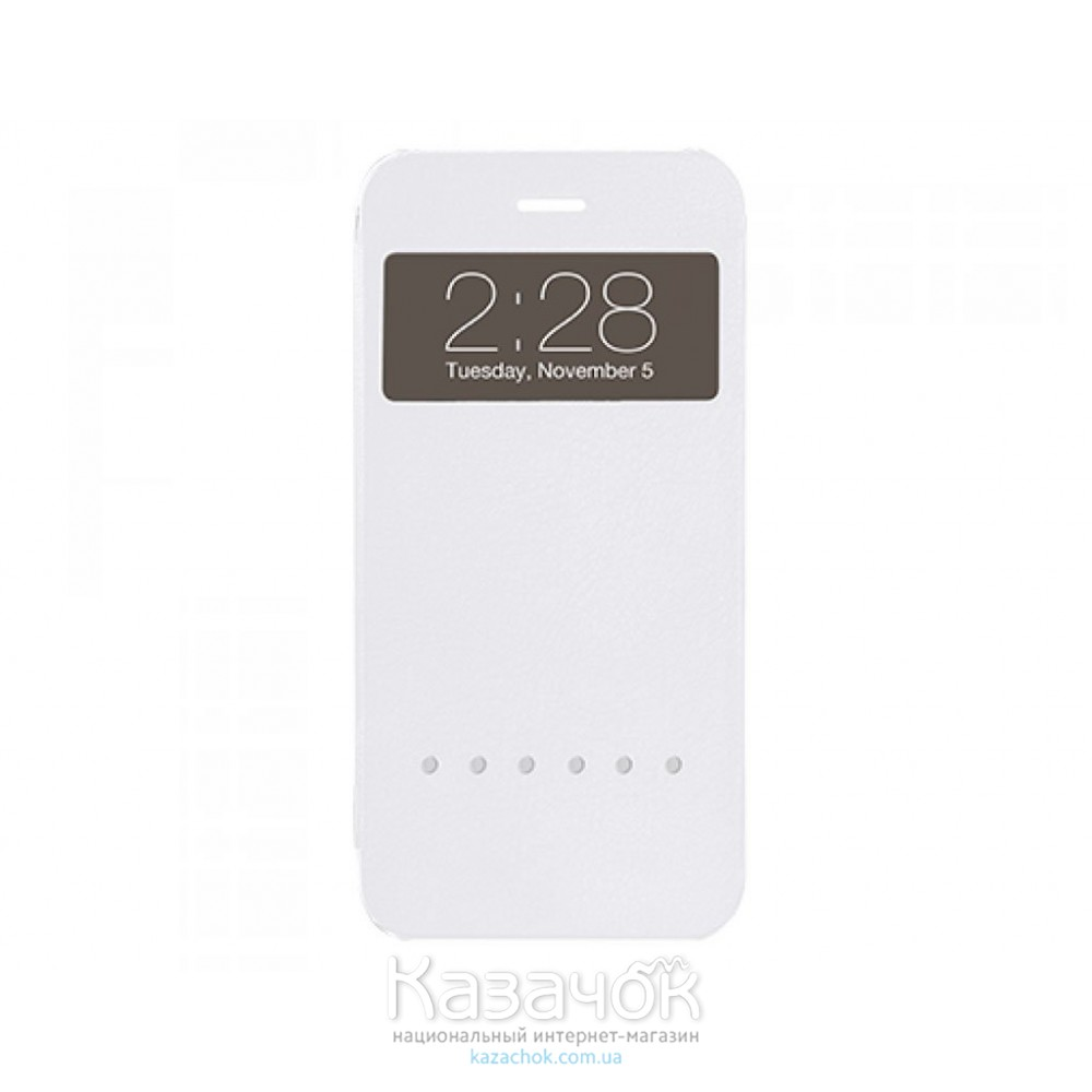 Чехол Ozaki O!coat Hel-ooo iPhone 6 White (OC579WH)