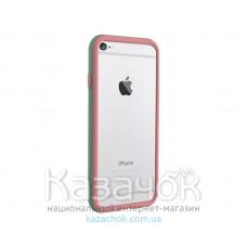 Бампер OZAKI O!coat Shock band iPhone 6 Pink