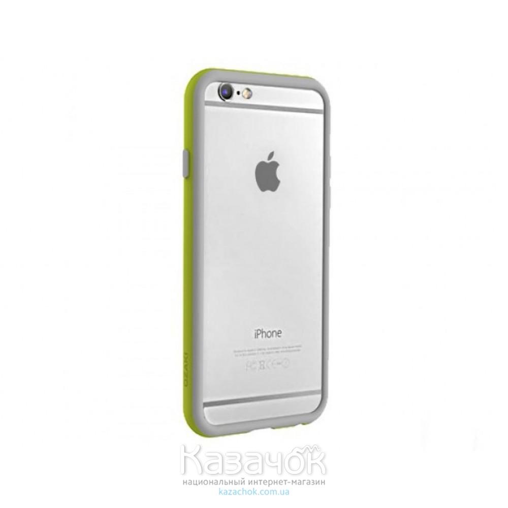 Бампер OZAKI O!coat Shock band iPhone 6 Wasabi