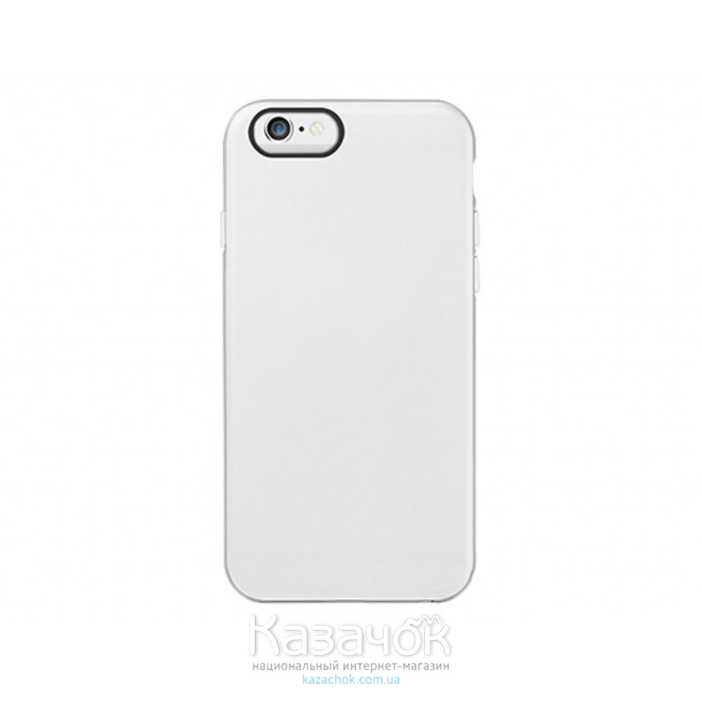 Чехол OZAKI O!coat Shockase iPhone 6 White