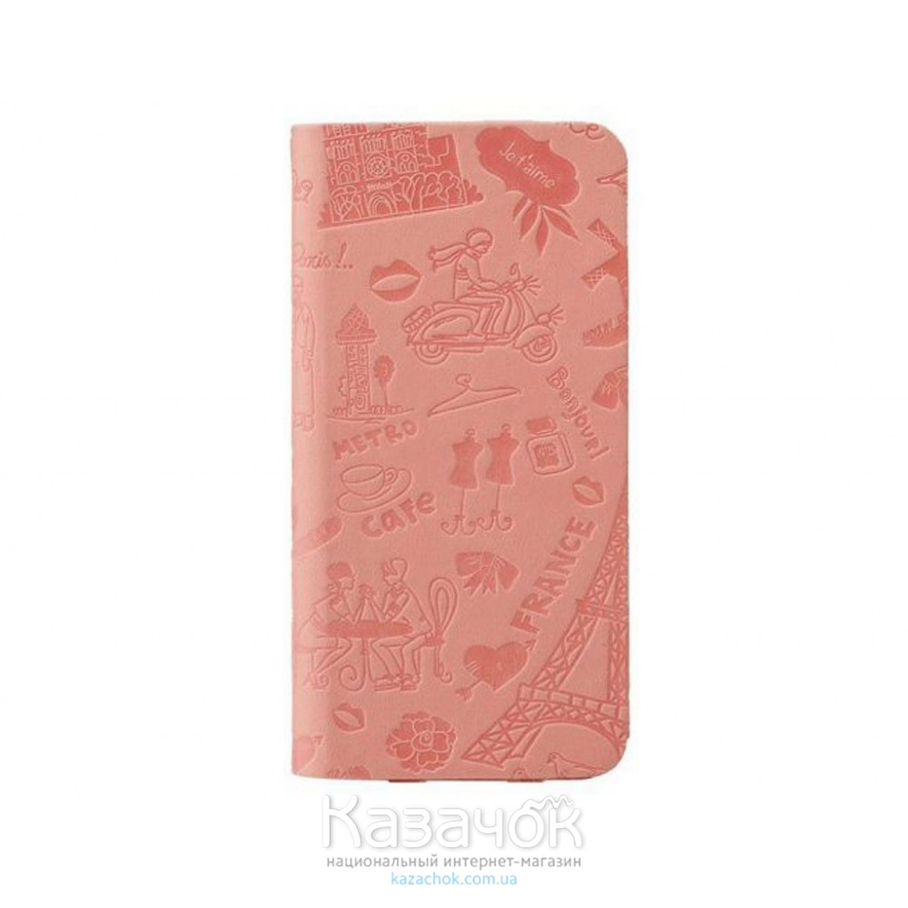 Чехол-книжка OZAKI O!coat travel iPhone 6 Plus Paris