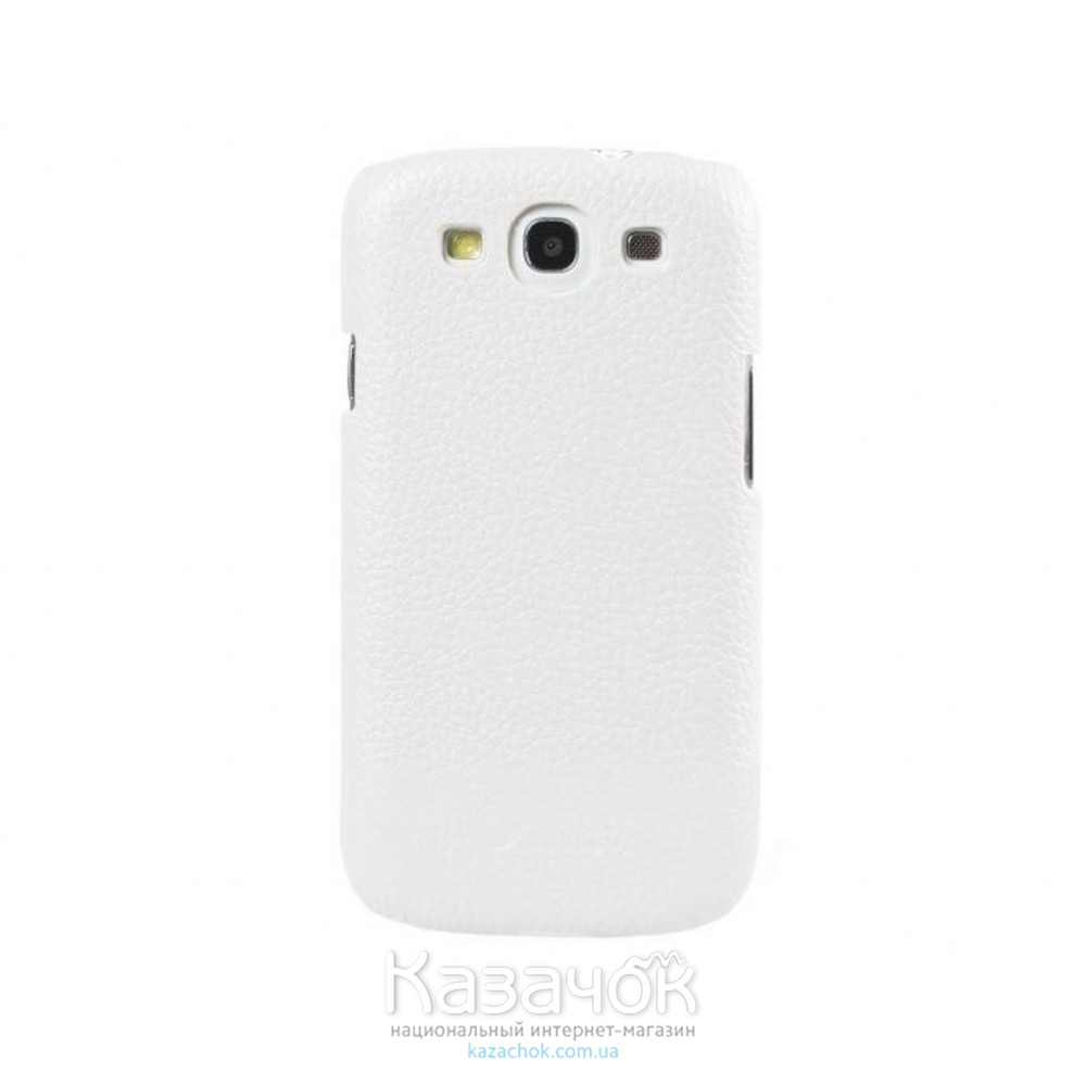 Чехол Melkco Snap leather cover для Samsung i8552 Galaxy Win Duos White (SSGW85LOLT1WELC)