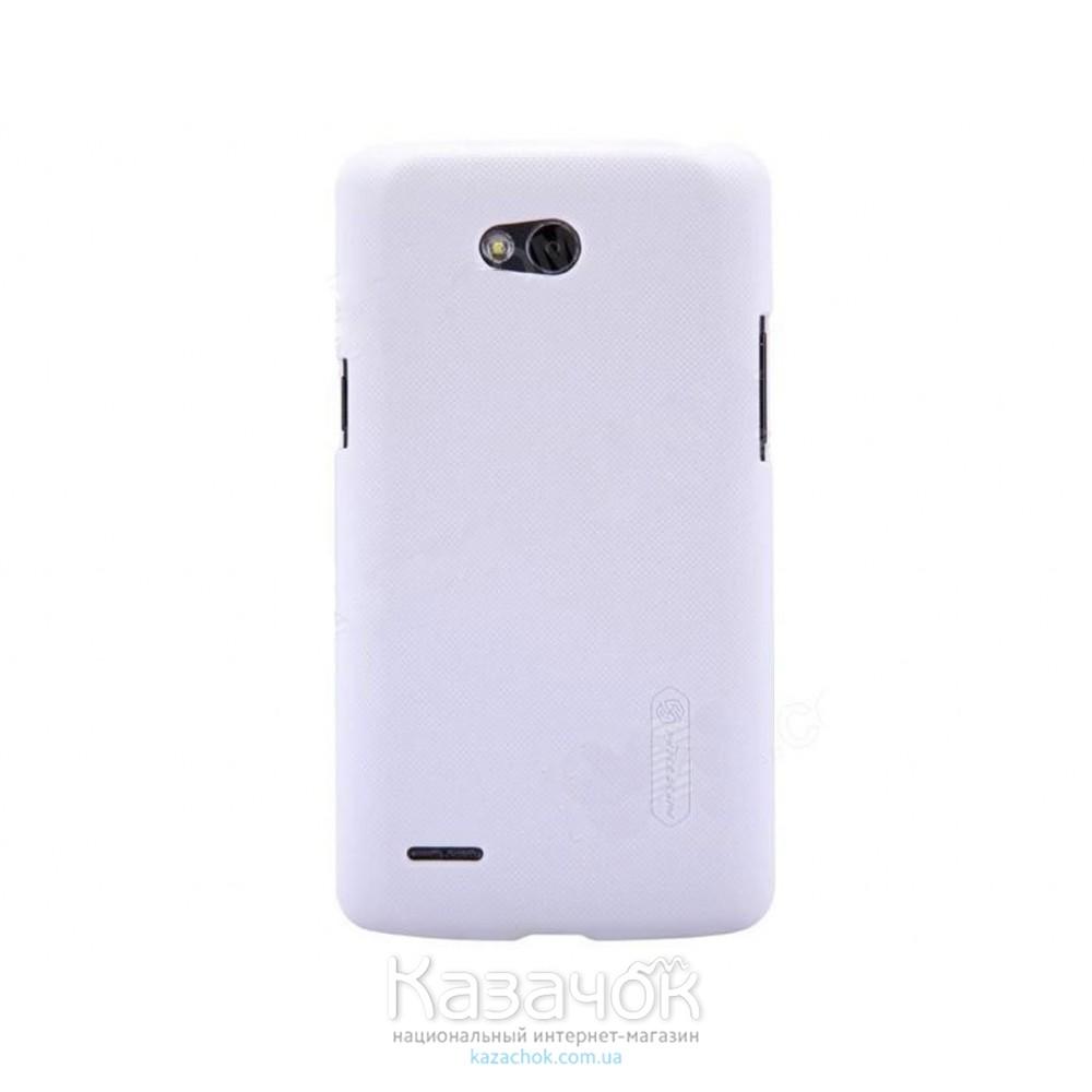 Чехол-накладка Nillkin Matte для LG L80/D380 White