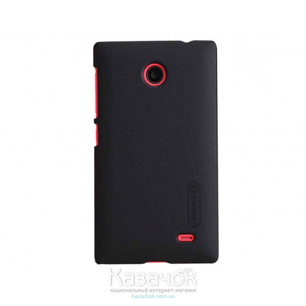Чехол-накладка Nilkin Matte for Nokia X/X+ Black