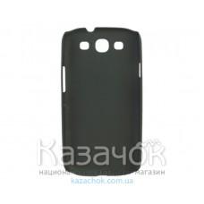 Чехол-накладка Plastic cover case for Nokia 301 Black
