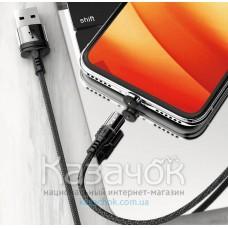 Кабель Micro USB Moxom Magnetic Black