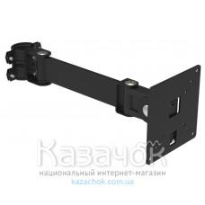 Кронштейн наклонно-поворотный для мониторов Квадо K-111