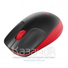Мышь Logitech Wireless Mouse M190 Full-size Red