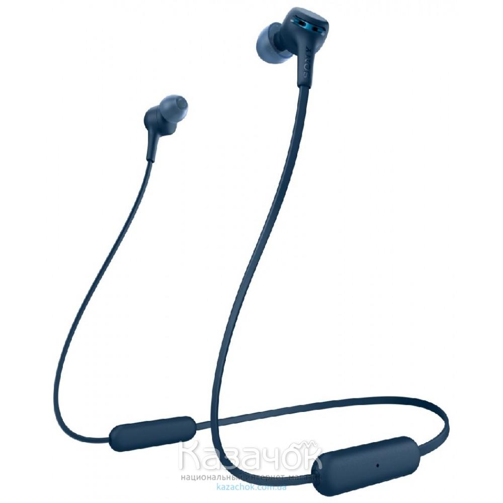 Наушники Bluetooth Sony WI-XB400L Blue (WIXB400L.CE7)
