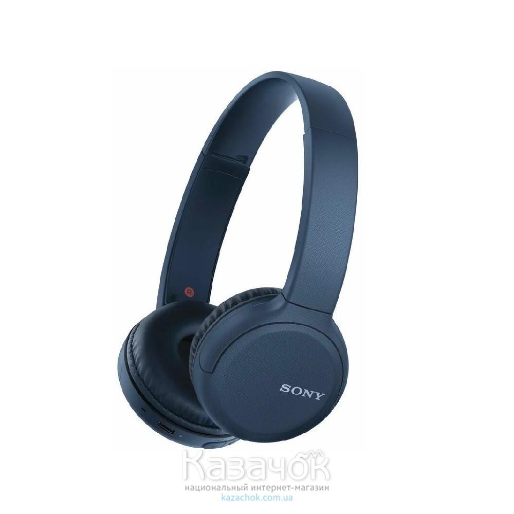 Наушники Bluetooth Sony WH-CH510 Blue (WHCH510L.CE7)