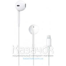 Наушники Apple EarPods with Mic Lightning