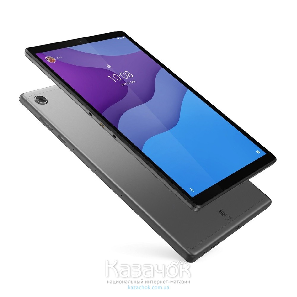 Планшет Lenovo Tab M10 HD (2nd Gen) Wi-Fi 2/32GB Iron Grey (ZA6W0015UA)