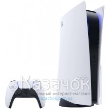 Игровая приставка SONY PlayStation 5 BluRay+SONY PlayStation DualSense White