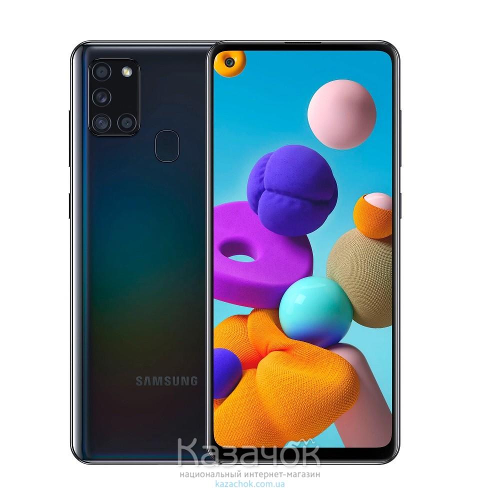 Смартфон Samsung Galaxy A21s 2020 A217F 3/32GB Black (SM-A217FZKNSEK)