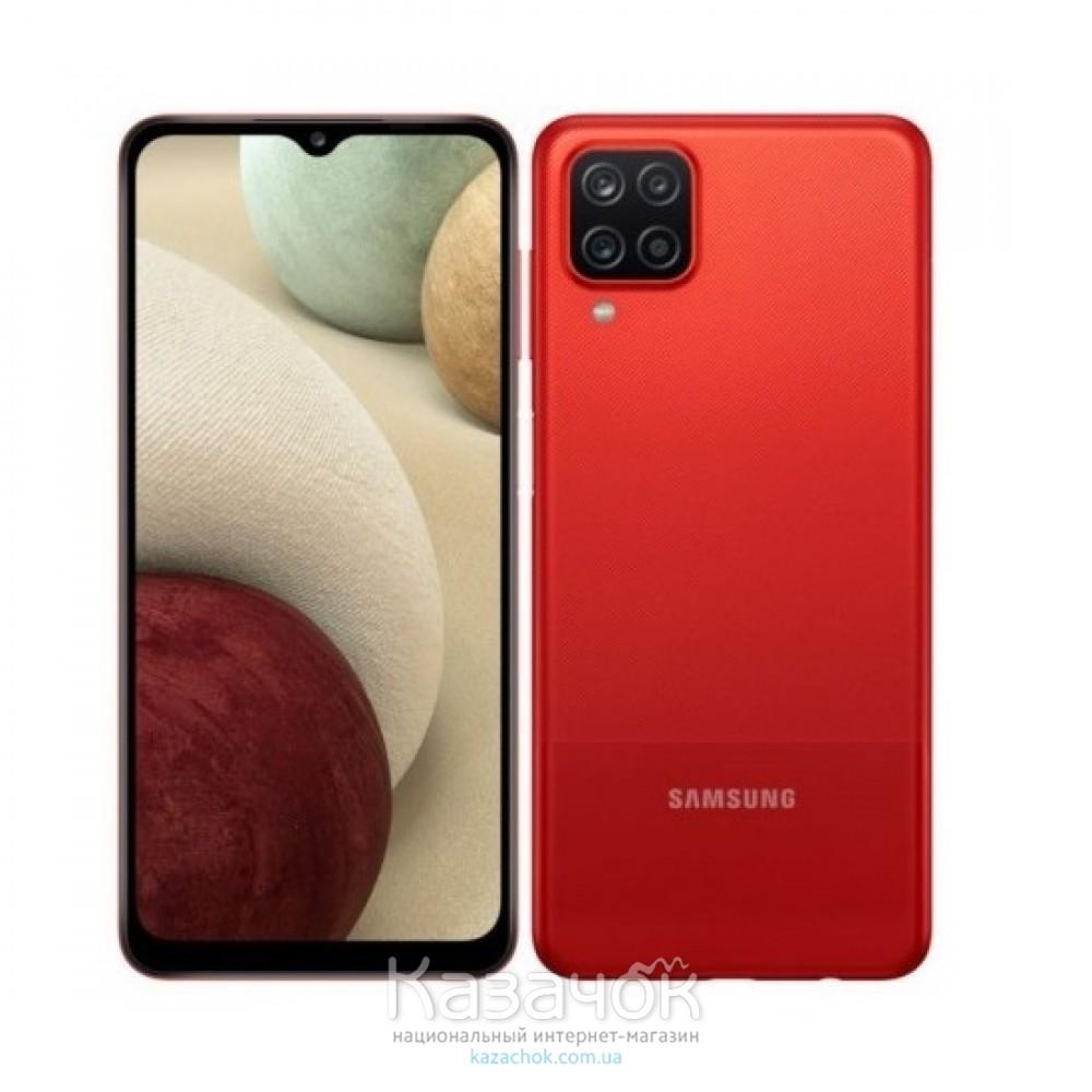 Смартфон Samsung Galaxy A12 3/32GB Red (SM-A125FZRUSEK)
