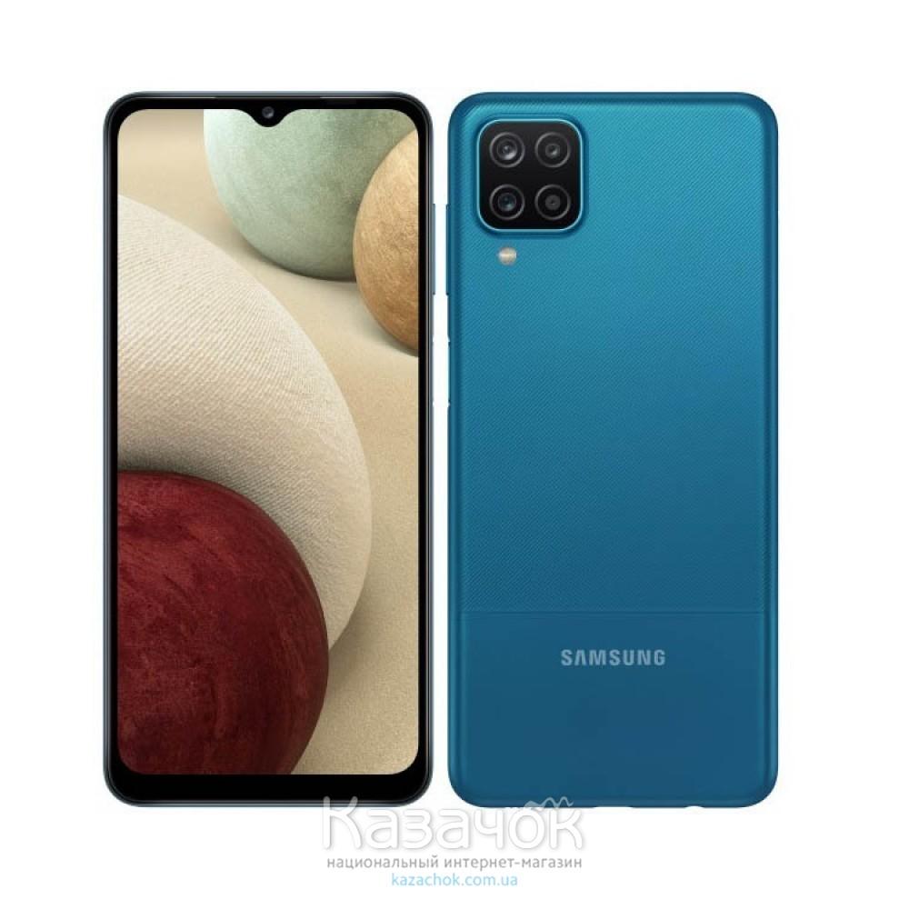 Смартфон Samsung Galaxy A12 4/64GB Blue (SM-A125FZBVSEK)