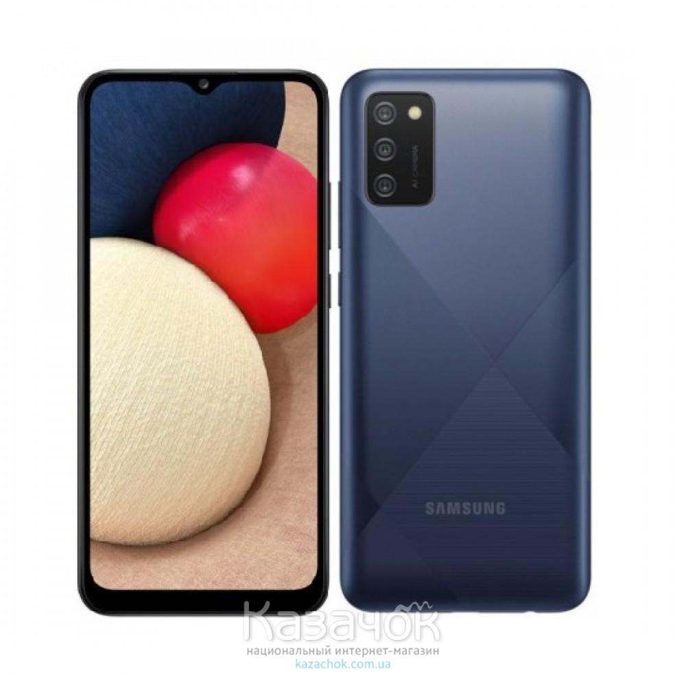 Смартфон Samsung Galaxy A02s 3/32GB Blue (SM-A025FZBESEK)