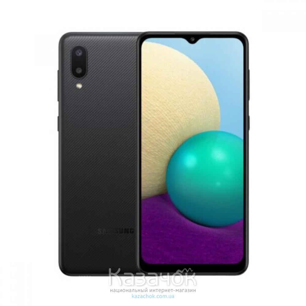Смартфон Samsung Galaxy A02 2/32GB Black (SM-A022GZKBSEK)