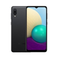 Samsung Galaxy A02 2/32GB Black (SM-A022GZKBSEK)