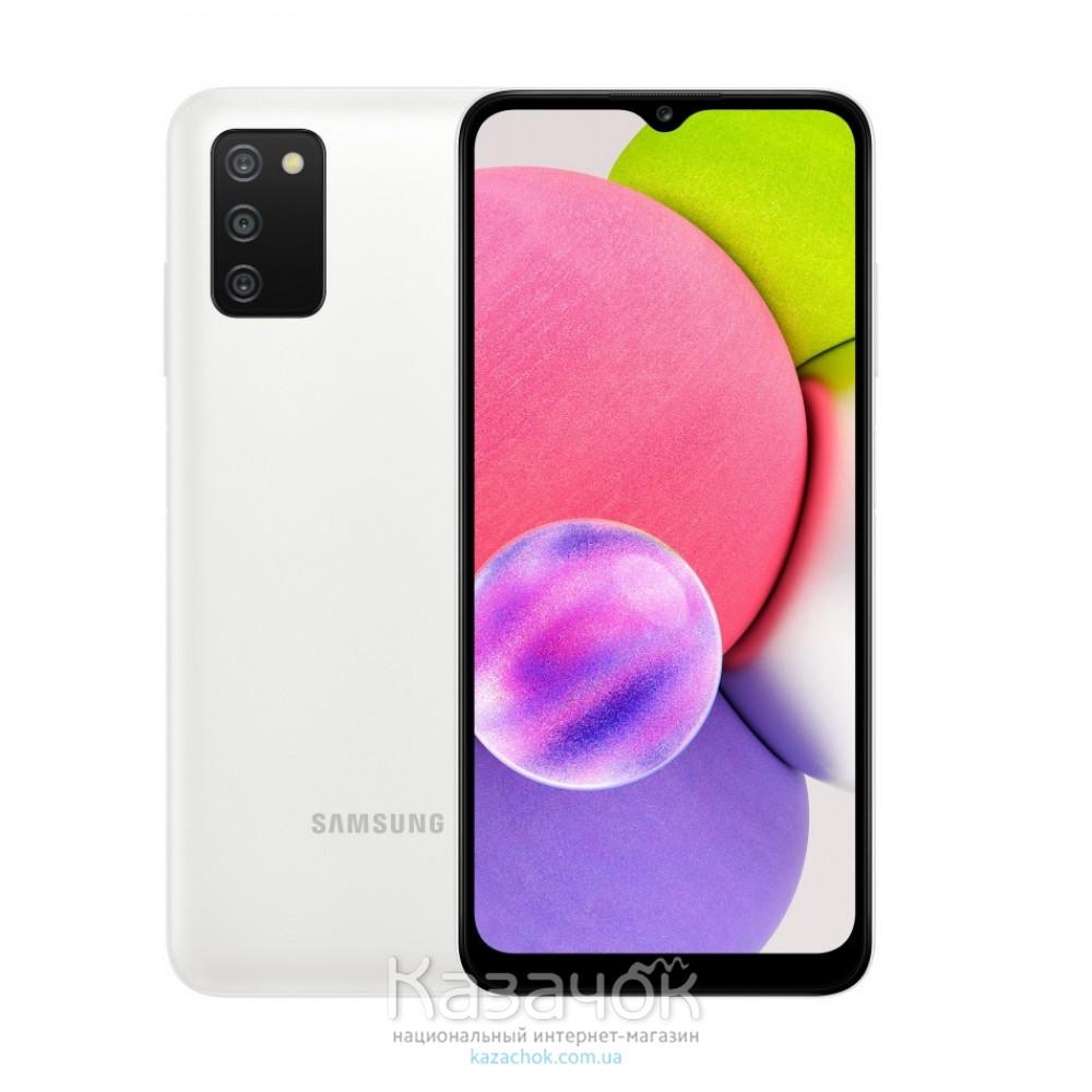 Смартфон Samsung Galaxy A03s 2021 A037F 4/64GB White (SM-A037FZWGSEK)