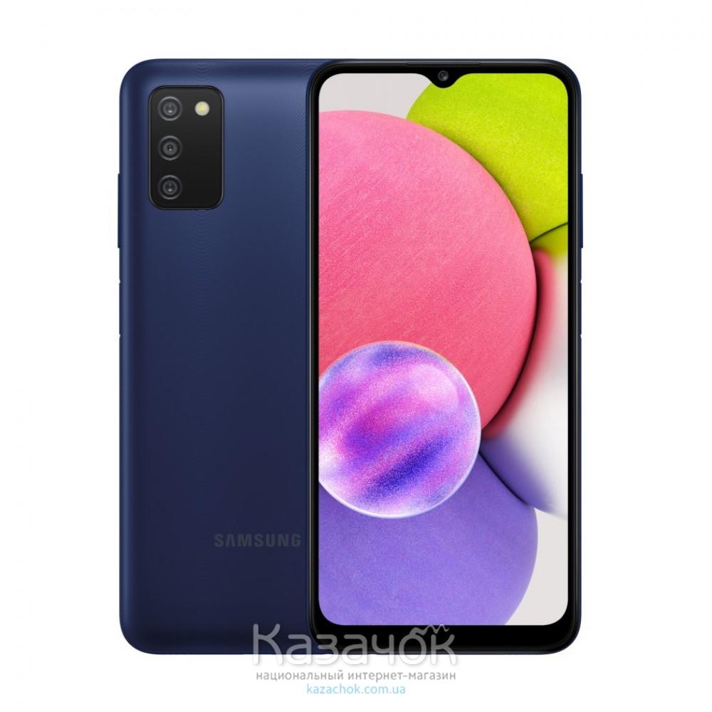 Смартфон Samsung Galaxy A03s 2021 A037F 4/64GB Blue (SM-A037FZBGSEK)