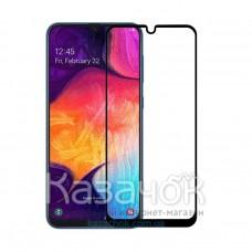Защитное стекло 5D iNavi Premium для Samsung A50/A50s/M30s/M21/M31 Black