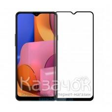 Защитное стекло Full Glue для Samsung A20s/A207 5D Black