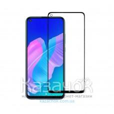 Защитное стекло Lion Full Glue для Huawei P40 Lite E 2020 5D Black