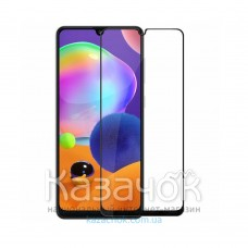 Защитное стекло Flexible Ceramics 9D для Samsung A31/A315 2020 Black