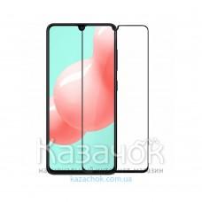 Защитное стекло 5D Lion Full Glue для Samsung A41/A415 2020 Black