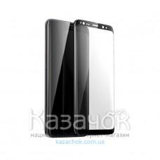 Защитное стекло 9D Flexible Ceramics для Samsung S9 Plus G965 Black
