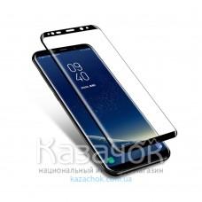Защитное стекло 9D Flexible Ceramics для Samsung S8 Plus G955 Black