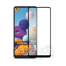Защитное стекло 5D iNavi Premium для Samsung A21S/A217 2020 Black