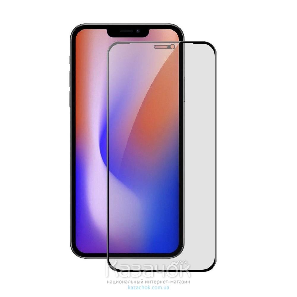 Защитное стекло Premium 6D для iPhone 12/12 Pro Black